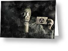 Nuclear Threat Greeting Card