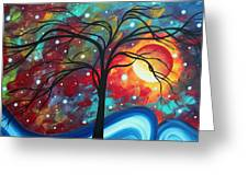 Envision The Beauty By Madart Greeting Card