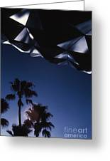 Epcot Abstract Greeting Card