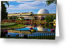 Epcot - Disney World Greeting Card by Michael Tesar