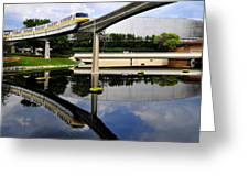 Epcot Reflections Greeting Card