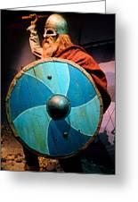 Epcot Viking Greeting Card