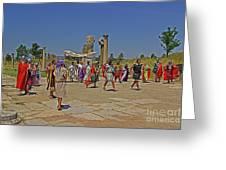 Ephesis Period Performers Greeting Card