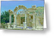 Ephesus.ruins Greeting Card