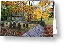 Ephrata Cloister Cemetery Greeting Card