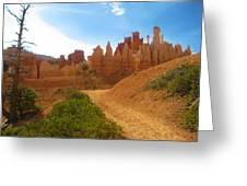 Epic Bryce Canyon Greeting Card