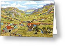 Epic Charlevoix Created By Richard Pranke Greeting Card