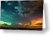 Epic Nebraska Lightning 008 Greeting Card