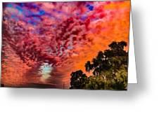 Epic Sunset Greeting Card