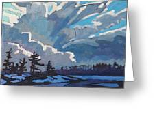 Equinox Cold Front Greeting Card