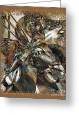 Equus Greeting Card