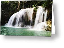 Erawan National Park Greeting Card