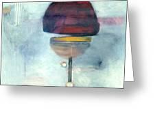 Erev Tops Jump Shot Greeting Card
