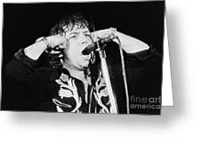 Eric Burdon In Concert-1 Greeting Card