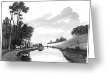 Erie Canal, 1837 Greeting Card