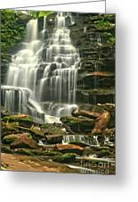 Erie Falls Gentle Cascades Greeting Card