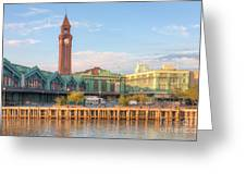 Erie Lackawanna Terminal IIi Greeting Card