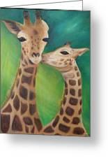 Erina's Giraffes Greeting Card