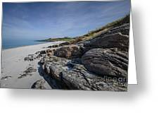 Eriskay Beach Greeting Card