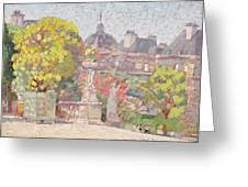 Ernest Moulines Greeting Card