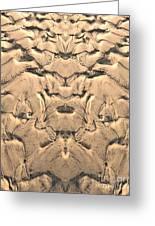 Golden Tidal Sands Greeting Card