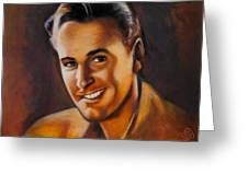 Errol Flynn Greeting Card