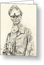 Erwin Rommel Greeting Card