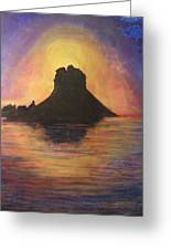 Es Vedra Sunset I Greeting Card