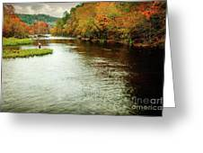 Escape To Beaver's Bend Greeting Card