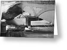 Escher Bridge Greeting Card