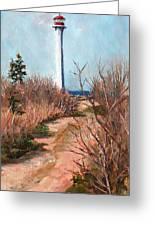 Escuminac Lighthouse Greeting Card
