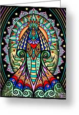 Espiritu 1- Goddess Greeting Card
