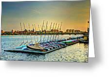 Esplanade Dock 023 Greeting Card