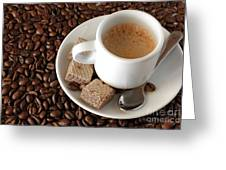 Espresso Coffee Greeting Card