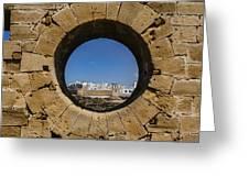 Essaouira In Morocco Greeting Card
