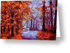 Essence Of Fall Greeting Card
