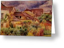 Essoyes Landscape 1884 Greeting Card