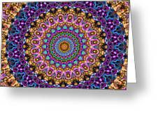 Estate Jewels Mandala No. 2 Greeting Card