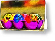 Ester Eggs - Pa Greeting Card