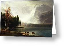 Estes Park, Colorado, Whyte's Lake Greeting Card