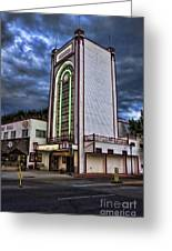 Estes Park Theater Greeting Card