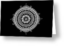 Estrella Mandala Greeting Card