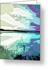 Estuary Greeting Card