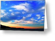 Estuary Skyscape Greeting Card