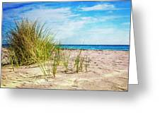Etchings In The Sand Greeting Card