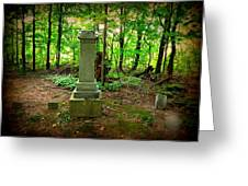 Eternal Resting Place Greeting Card