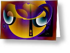 Eternity Clock Greeting Card