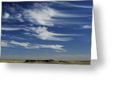 Ethereal Clouds Greeting Card