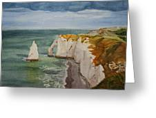Etretat Greeting Card