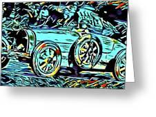 Ettore's Dream Cars Greeting Card